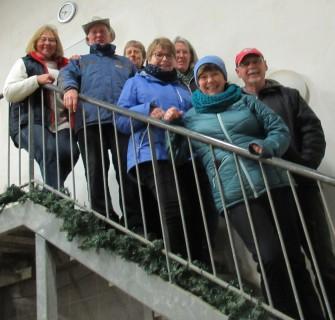 V.l.n.r.: Anne, Heiko, Dagmar, Marita, Irmela, Elli und Robby